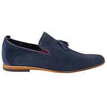 Buy Dune Beemer Suede Tassle Slip On Shoe Online at johnlewis.com