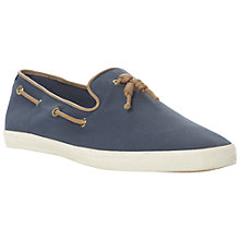 Buy Dune Treat Canvas Tassel Slip On Shoes Online at johnlewis.com