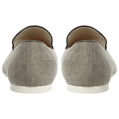 Buy Dune Blinker Canvas Loafers Online at johnlewis.com