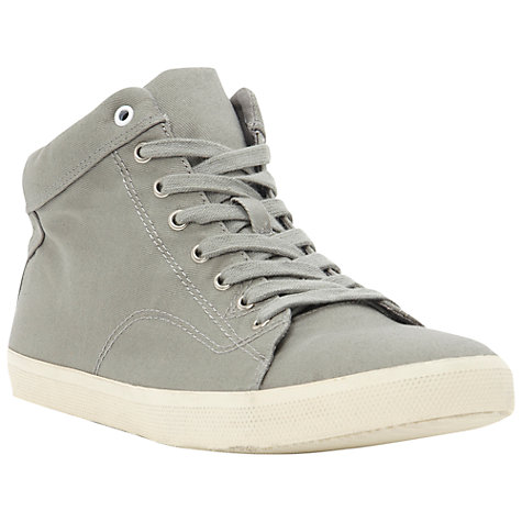 Buy Dune Sampson Canvas Hi-Top Trainers Online at johnlewis.com