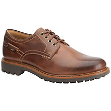 Buy Clarks Montacute Hall Leather Derby Shoes Online at johnlewis.com