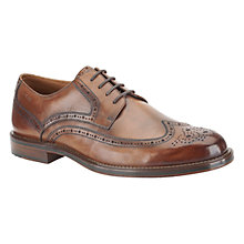 Buy Clarks Dorset Limit Leather Brogue Derby Shoes Online at johnlewis.com