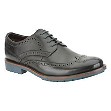 Buy Clarks Garnet Limit Leather Brogue Shoes Online at johnlewis.com
