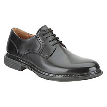 Buy Clarks Un Walk Leather Derby Shoes Online at johnlewis.com