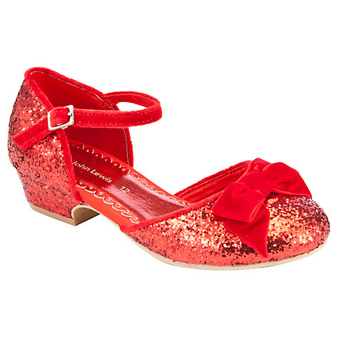 Buy John Lewis Glitter Heeled Shoes Online at johnlewis.com