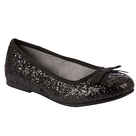 Buy John Lewis Girl Belle Glitter Pumps Online at johnlewis.com