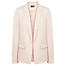 Buy Oasis Angle Pocket Jacket, Pink Online at johnlewis.com