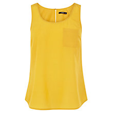 Buy Oasis Plain Pocket Vest Top Online at johnlewis.com