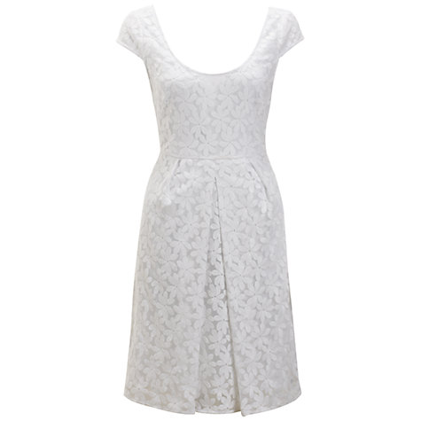 Buy Adrianna Papell Embroidered Dress Online at johnlewis.com