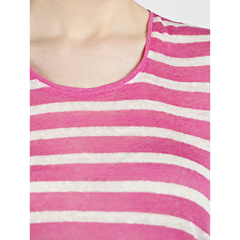 Buy Lauren by Ralph Lauren Striped Scoop Neck T-Shirt Online at johnlewis.com