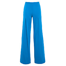 Buy Lauren by Ralph Lauren Wide Leg Trousers, Aegean Blue Online at johnlewis.com