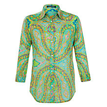 Buy Lauren by Ralph Lauren Printed Shirt, Green Multi Online at johnlewis.com