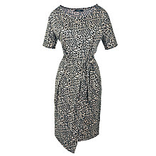 Buy Weekend by MaxMara Leopard Print Jersey Dress, Khaki Online at johnlewis.com