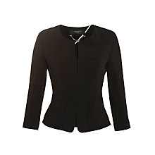 Buy Weekend by MaxMara Smart 4 Pocket Jacket, Black Online at johnlewis.com