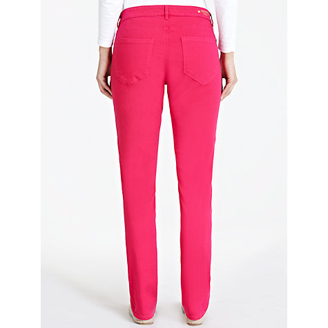 Buy Weekend by MaxMara Coloured Slim Leg Jeans, Fuchsia Online at johnlewis.com
