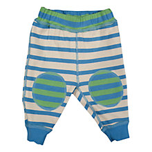 Buy Frugi Baby Reversible Knee Patch Organic Cotton Crawlers, Multi Online at johnlewis.com