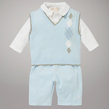 Buy Emile et Rose Tank Top, Trouser and Bodysuit Set, Blue Online at johnlewis.com