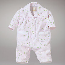 Buy Emile et Rose Floral Print Pyjamas, Pink Online at johnlewis.com
