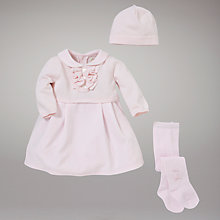 Buy Emile et Rose Dress with Knitted Top and Hat, Pink Online at johnlewis.com