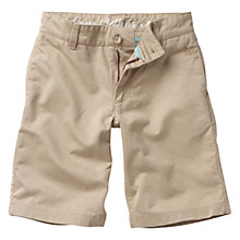 Buy Crew Clothing Boys' Dylan Shorts, Tan Online at johnlewis.com