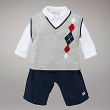 Buy Emile et Rose Tanktop, Trouser and Bodysuit Set, Navy/Multi Online at johnlewis.com