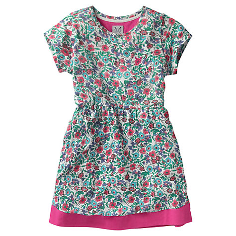 Buy Crew Clothing Girls' Trisha Floral Dress Online at johnlewis.com