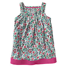 Buy Crew Clothing Girls' Cleo Floral Vest, Multi Online at johnlewis.com