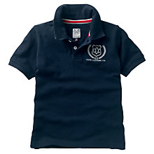 Buy Crew Clothing Boys' Judd Polo Shirt, Navy Online at johnlewis.com