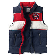 Buy Crew Clothing Boys' Preston Gilet, Multi Online at johnlewis.com