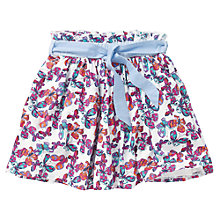 Buy Crew Clothing Girls' Cibil Butterfly Skirt, Multi Online at johnlewis.com