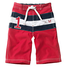 Buy Crew Clothing Boys' Healy Swimming Shorts Online at johnlewis.com