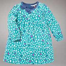 Buy John Lewis Pebble Print Corduroy Dress, Blue Online at johnlewis.com