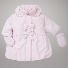 Buy Emile et Rose Wadded Bow Jacket, Pink Online at johnlewis.com