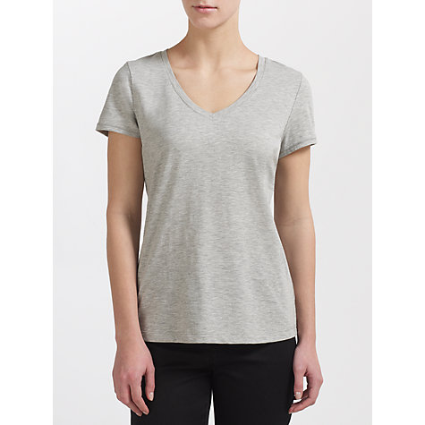 Buy Kin by John Lewis V-neck Slub T-Shirt Online at johnlewis.com