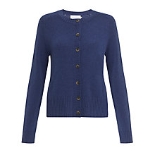 Buy Collection WEEKEND by John Lewis Crew Neck Cashmere Cardigan Online at johnlewis.com