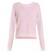 Buy Collection WEEKEND by John Lewis Chunky Cotton Jumper Online at johnlewis.com