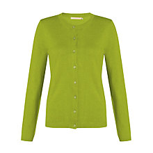 Buy John Lewis Cotton Mix Crew Neck Cardigan Online at johnlewis.com