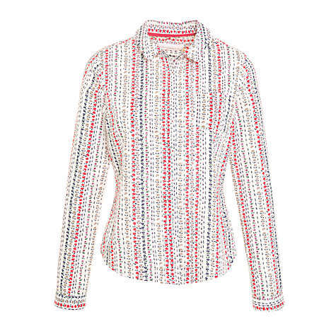 Buy Collection WEEKEND by John Lewis Flower Stripe Shirt, Multi Online at johnlewis.com