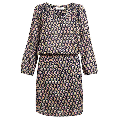 Buy Collection WEEKEND by John Lewis Isabel Smock Dress, Navy Online at johnlewis.com