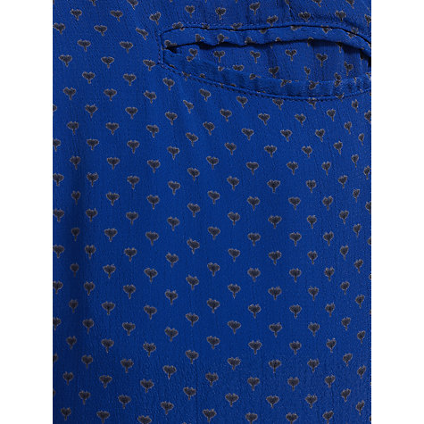 Buy Collection WEEKEND by John Lewis Seedling Print Trousers, Blue Online at johnlewis.com