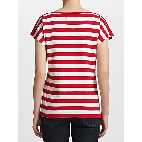 Buy Collection WEEKEND by John Lewis Urban Stripe Jersey Top Online at johnlewis.com
