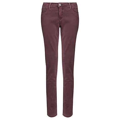 Buy Collection WEEKEND by John Lewis Skinny Twill Jeans, Mauve Online at johnlewis.com