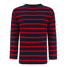 Buy John Lewis Boy Long Sleeve Breton Top Online at johnlewis.com