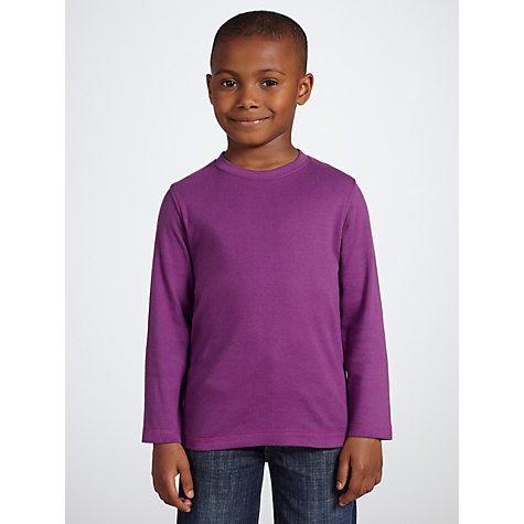 Buy John Lewis Boy Long Sleeve Top Online at johnlewis.com