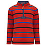 John Lewis Boy Striped Zip Neck Fleece