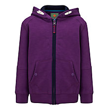 Buy John Lewis Boy Zip Through Hoodie Online at johnlewis.com