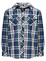 John Lewis Boy Hooded Check Shirt