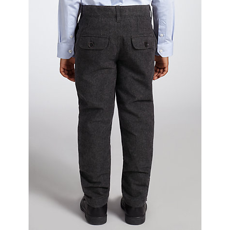 Buy John Lewis Heirloom Collection Textured Trousers, Grey Online at johnlewis.com