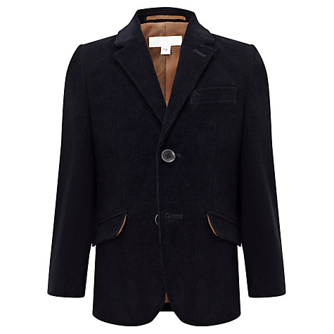 Buy John Lewis Heirloom Collection Corduroy Blazer, Navy Online at johnlewis.com