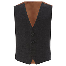 Buy John Lewis Heirloom Collection Check Waistcoat, Dark Grey Online at johnlewis.com